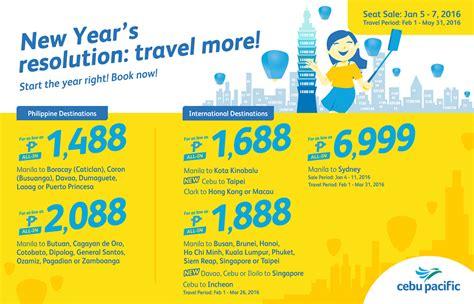 new year promo fare cebu pacific promo fares 2018 to 2019 new year s 2016