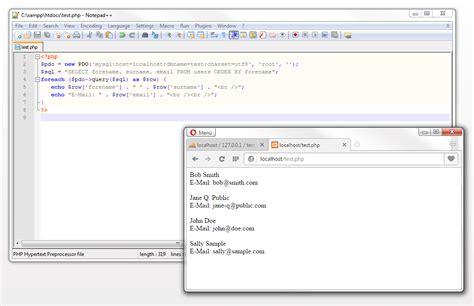 php echo date format mysql php echo mysql row phpsourcecode net