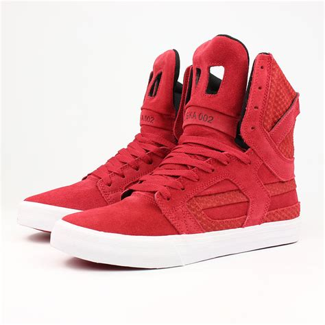 supra shoes for supra shoes skytop 2 high top cardinal white