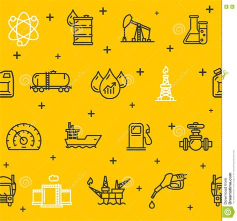 quest placement pattern oil industry background pattern vector vector