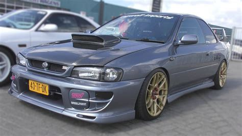 subaru gc8 coupe subaru impreza gc8 coupe v5 type r amazing sounds