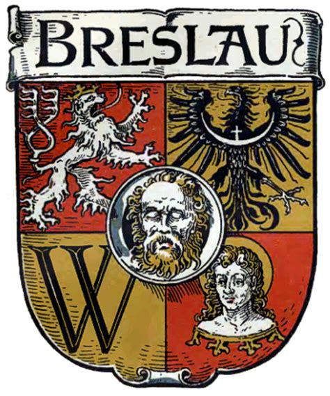 Breslau Germany Birth Records Breslau Wappen