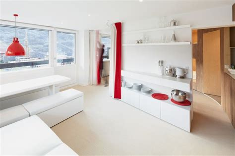 many rooms minimalist interior design for small apartment with many rooms menuires ski resort home