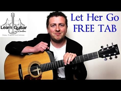 youtube tutorial let her go let her go easy beginner guitar tutorial passenger