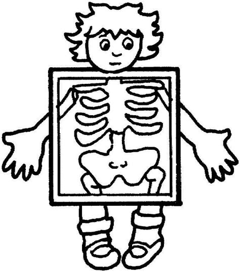 free coloring pages of my body