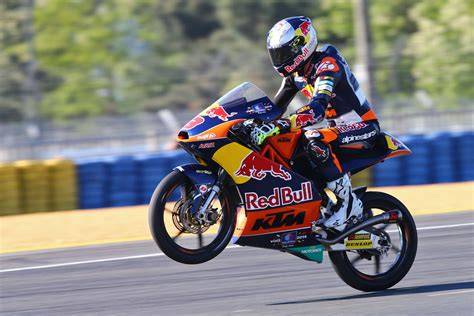 Miller Ktm Miller Reflects On Fighting Moto3 Victory In