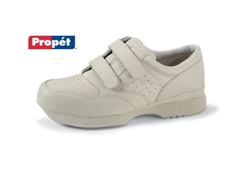 shoes for elderly s leather hook and loop closure shoe by propet buck