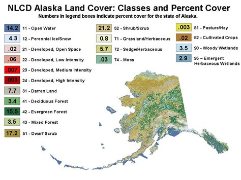 State Of Alaska Property Records National Land Cover Database At The Alaska Science Center