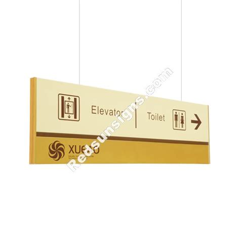 Ceiling Hanging Signs by Hanging Ceiling Mounted Directional Signs