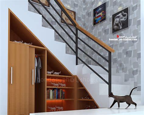 wallpaper dinding tangga arsitek jogja mrs irawati house yogyakarta arsitek