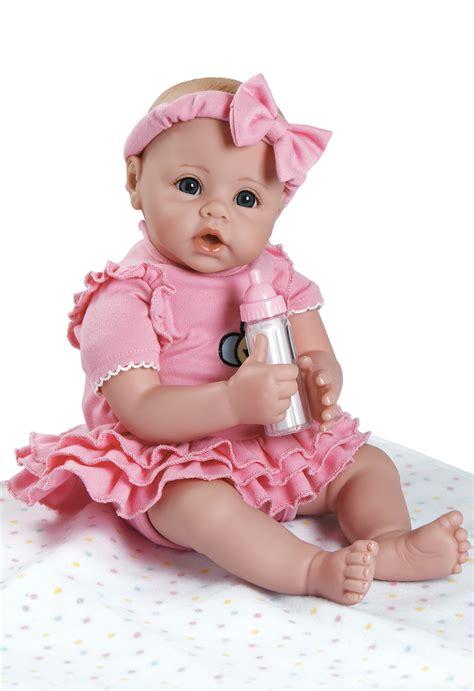 Baby Pink Newborn Babydoll Set adora babytime doll realistic lifelike 16 quot baby doll pink