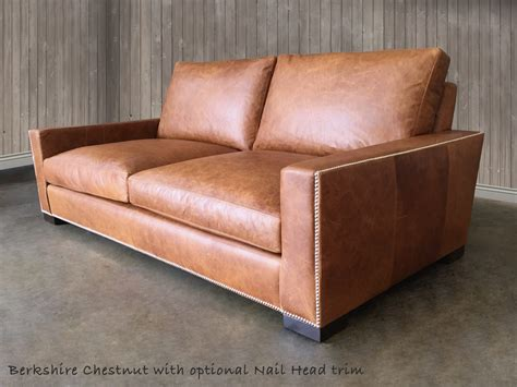Chestnut Leather Sofa Chestnut Leather Sofa American Made Leather Furniture Sofas Chairs Thesofa