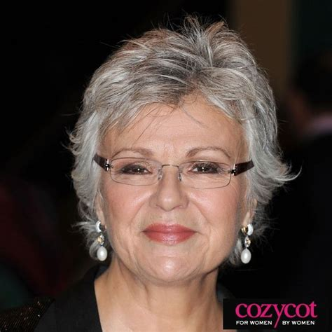 over 60 hair color for gray hair julie walters grey and beautiful a real natural gray