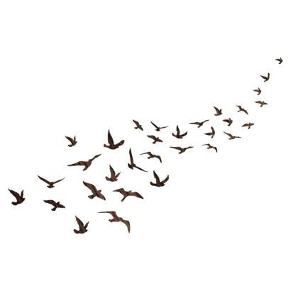 flock of birds tattoo designs wall decal flock of birds organizedotcom dreamdorm