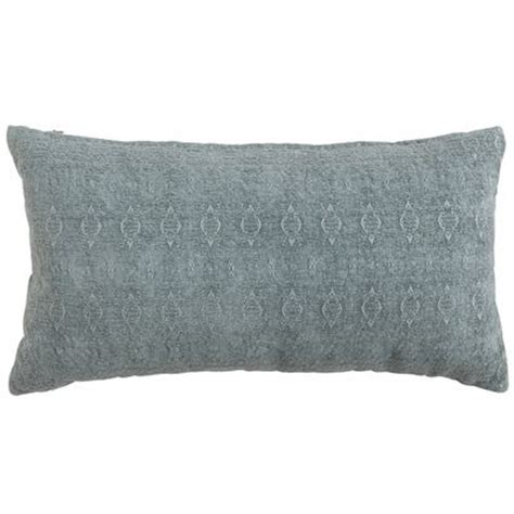 Smoke Blue Pillows by Artisan Lumbar Pillow Smoke Blue Pier 1 Imports
