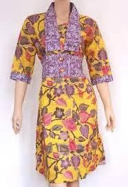 desain dress batik muslimah remaja 20 gambar desain baju batik remaja modern terpopuler 2018