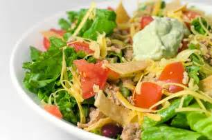 Olive Garden Family Meals - recipe for taco salad with spicy avocado dressing life s ambrosia life s ambrosia