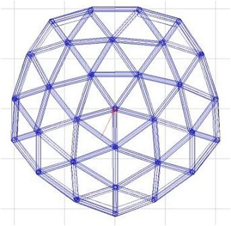 dome design with vertical sidewalls