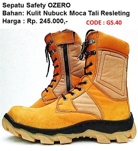 Sepatu Safety Ozero produsen sepatu safety ozero murah sni 0822 3477 0651