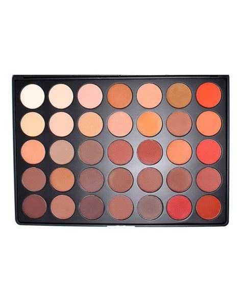 35 colour matte nature glow eye shadow palette 35om by morphe brushes