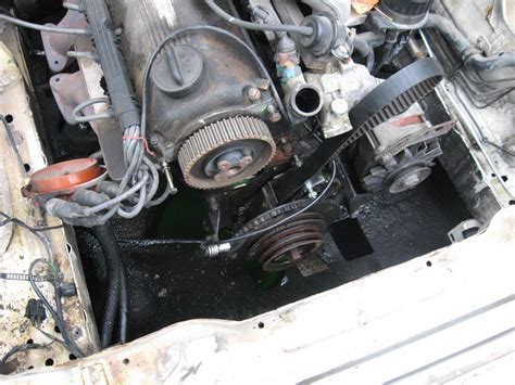 bmw timing belt replacement started bmw e30 timing belt water replacement flickr