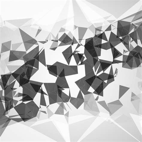monochromatic abstract abstract background with monochromatic polygons vector