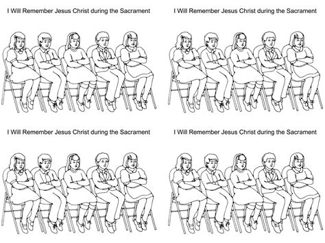 lds coloring pages sabbath day 7 best images of lds primary printables lds sabbath day