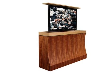 Motorized Tv Lift Cabinet by Tv Lift Furniture Bayside Motorized Tv Lift Cabinet