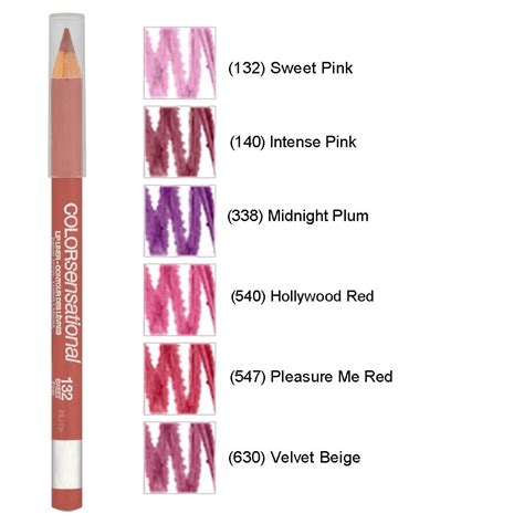 Lip Liner Maybelline maybelline color sensational lip liner