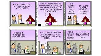 Dilbert is probably one of the best known tech comic strips with a