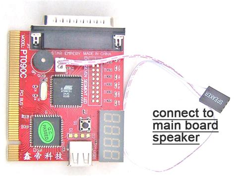 Debug Card Usb pci lpt usb port 4bit display pc post analyzer card debug card post code card test card in demo