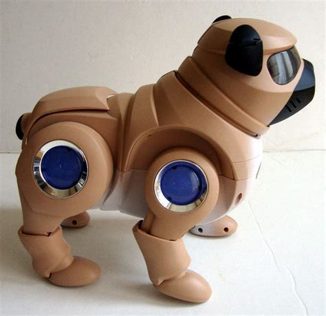 tekno the robotic puppy the robot s web site