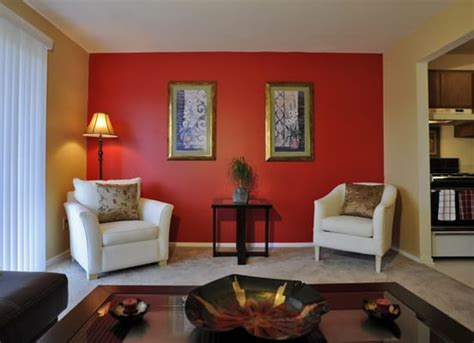 accent wall in living room red accent wall living room simple home decoration