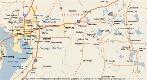 map of bartow