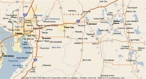 map of bartow florida map of bartow