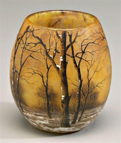 Daum Nancy Vase by 588 Daum Nancy Vase Lot 588