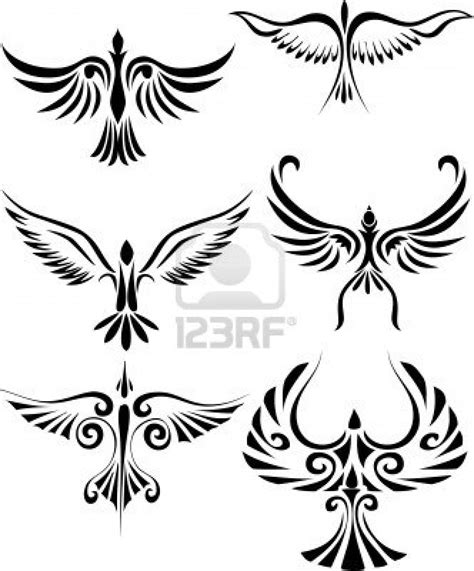 tribal birds tattoos tumb tattoos zone tribal