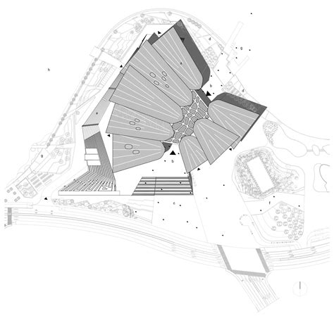 The Office Floor Plan wuxi grand theatre finnish architecture 2016