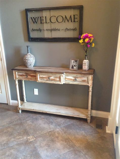 foyer table ideas our rustic foyer table decor ideas