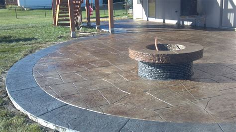 poured concrete patio estimate sted concrete arbor