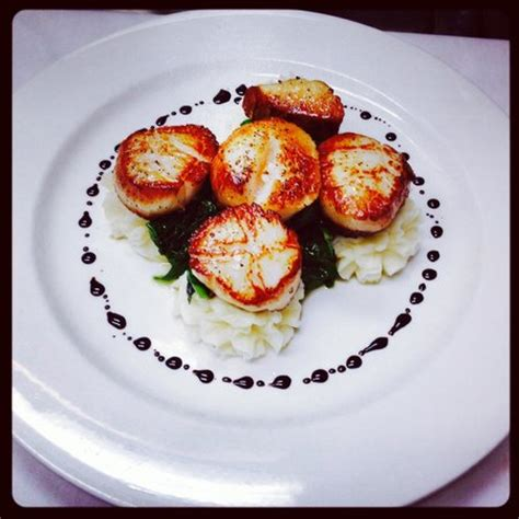 cafe fiori sea scallops picture of cafe fiori randolph tripadvisor