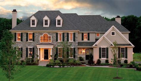 Farmhouse House Plan by Moser Homes New Homes In Chester County Amp Delaware County Pa