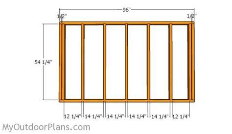 Distance Between Screws On Plywood Floor - lean to storage shed plans myoutdoorplans free
