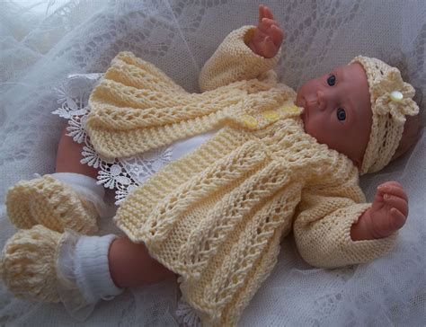 baby knitting patters dk baby knitting pattern 39 to knit or reborns