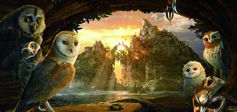 film cartoon owl legend guardians owls gahoole animation fantasy adventure