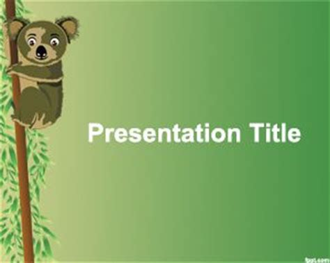 koala powerpoint template