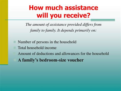 How To Receive Section 8 by Ppt Housing Choice Voucher Section 8 Participant