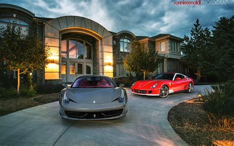 house and cars pics f599 alonso edition grigio medio f458
