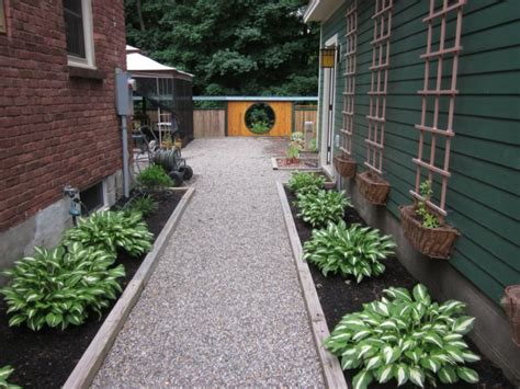 garden with gravel is a nice solution for outdoor use fresh design pedia