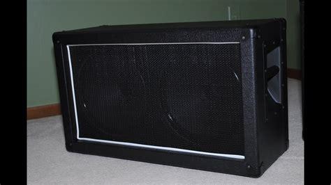2x12 guitar cabinet plans 2 x 12 guitar speaker cabinet plans stkittsvilla com